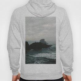 Crashing Waves on Cannon Beach Oregon Hoody