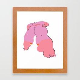 i'm strong for you Framed Art Print
