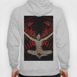 0395s-PDJ Sensual Angel with Red Wings Woman Empowered as Succubus Hoody