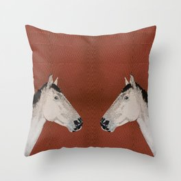 Stable love Throw Pillow
