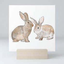 Rabbit Rabbit Mini Art Print
