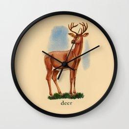 Deer me... Wall Clock