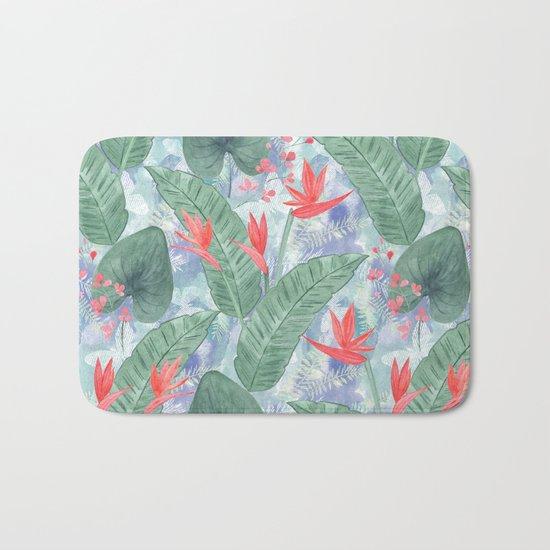 Tropical pattern 4 Bath Mat