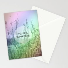 You Are Superstar Stationery Cards