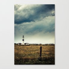 Lighthouse of Kampen Canvas Print