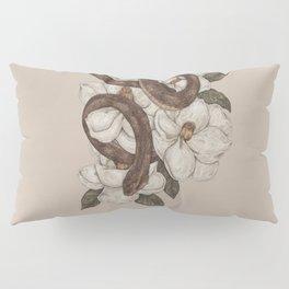 Snake and Magnolias Pillow Sham