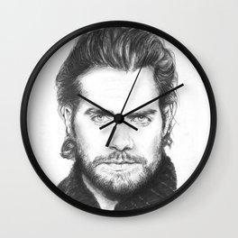 superman...  henry cavill. Wall Clock
