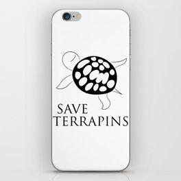 Save Terrapins iPhone Skin