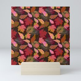 Autumn fall. Mini Art Print