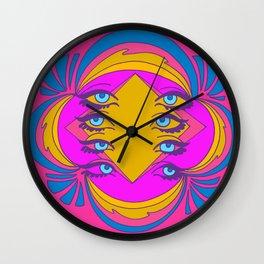Radar Eyes Wall Clock