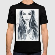 Tori Black Mens Fitted Tee Black X-LARGE