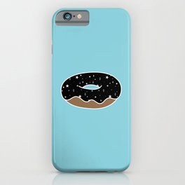 Space Donut with Star Sprinkles iPhone Case