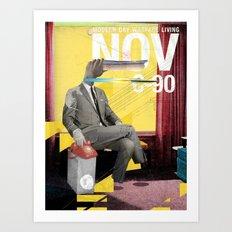 Modern Day Warfare  Art Print