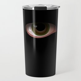 Eye in Black Travel Mug