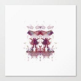 Inknograph XXIV - Rorschach Art Canvas Print