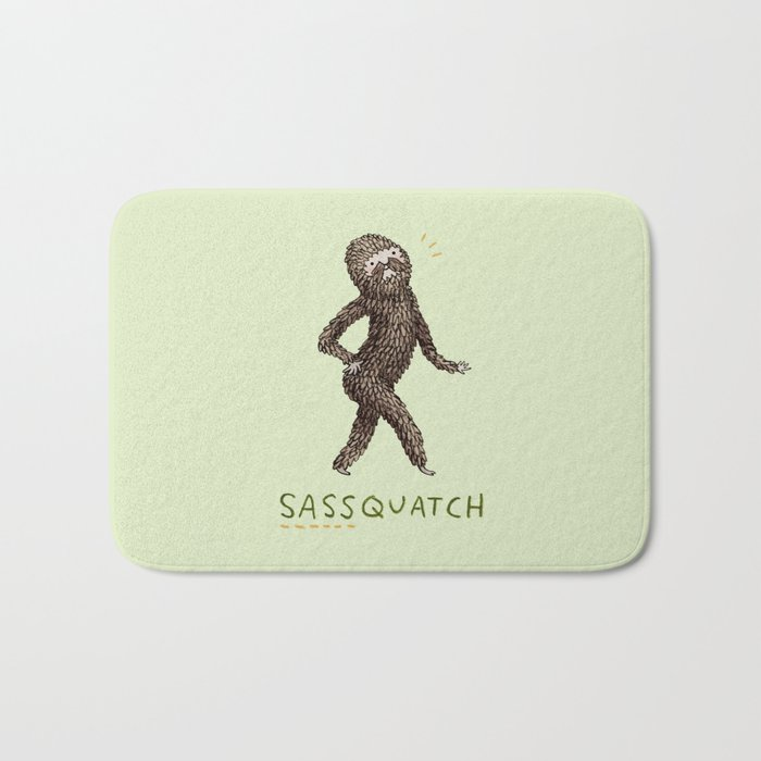 Sassquatch Bath Mat
