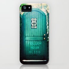 follow your bliss iPhone (5, 5s) Slim Case