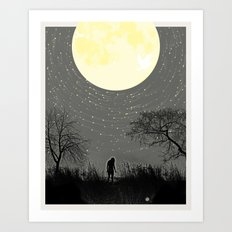 My Darkest Star Art Print