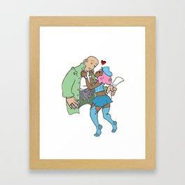 Harvard's for Heroes Framed Art Print