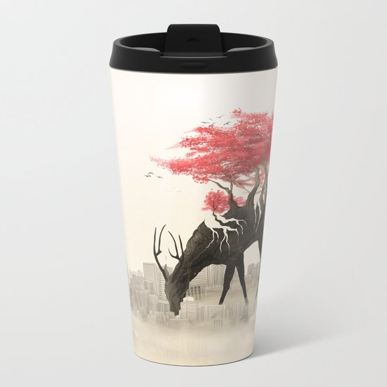 Revenge of the forest Metal Travel Mug