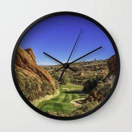 Arrowhead Golf Course Hole 13 Wall Clock