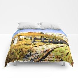 Catanzaro: railway station Comforters