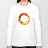 hobbit Long Sleeve T-shirts featuring Hobbit by Wharton
