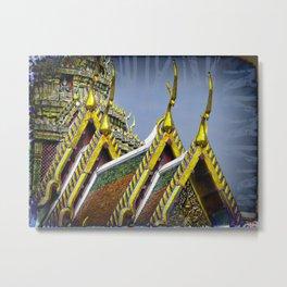 Bangkok palace II Metal Print