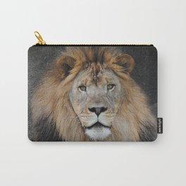 Male Lion Portrait Carry-All Pouch