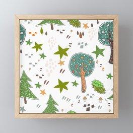 Trees Framed Mini Art Print