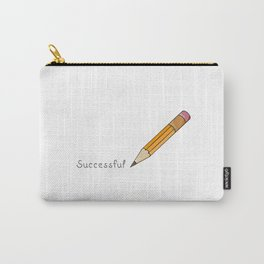 pen and written text: Successful Carry-All Pouch