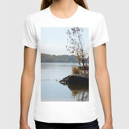 Fall on the River Bank T-shirt