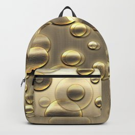 Gold Bubbles Celebration Backpack