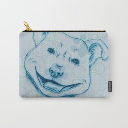 Happy PitBull Carry-All Pouch