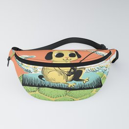 Dog Fisher Fanny Pack
