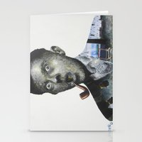 magritte Stationery Cards featuring Magritte by Regina Jean