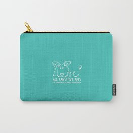 ALL PAWSITIVE PUPS LOGO Carry-All Pouch