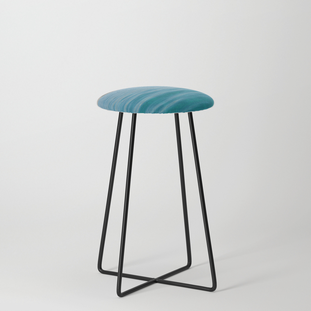 Travel Destination In Holidays It The Best For Cha... Counter Stool by Darwindsbfromnewyork