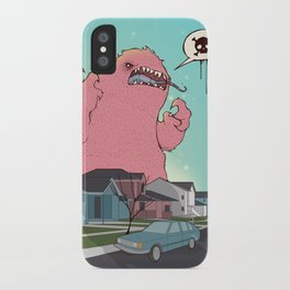 Die like the Dinosaurs iPhone Case