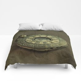 Golden pocket watch Comforters