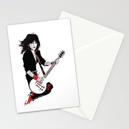 Joan Jett, The Queen of Rock Stationery Cards