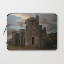 Clifden Castle at the sunset Laptop Sleeve