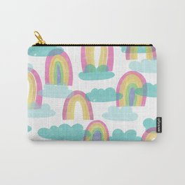 Rainbows and Clouds Carry-All Pouch