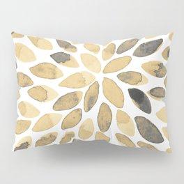 Watercolor brush strokes - neutral Pillow Sham