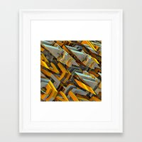 transformer Framed Art Prints featuring Transformer Fish by Kunstbehang / Edwin van Munster