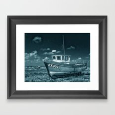 Dungeness And Boat Framed Art Print