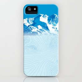 Mt. Alyeska Alaska iPhone Case