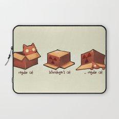 Schrödinger's cat Laptop Sleeve
