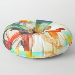 Life Cycle Floor Pillow