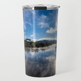 Morning Country River Travel Mug